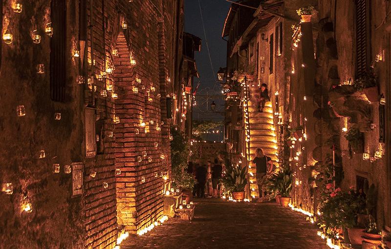 La Notte Romantica dei Borghi piu' belli d'Italia